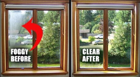 fogged double glazing replacement